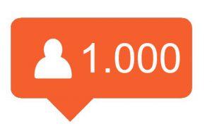 1000 Hoge kwaliteit Instagram volgers kopen