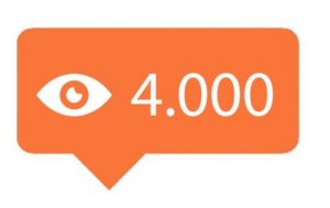 4000 Instagram video views kopen