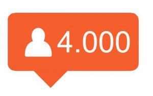 4000 Hoge kwaliteit Instagram volgers kopen
