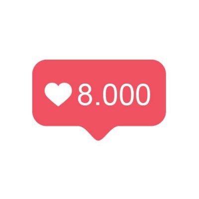 8000 Instagram likes kopen