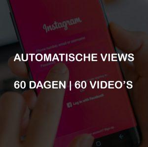 AUTOMATISCHE VIEWS 60 DAGEN 60 VIDEOS