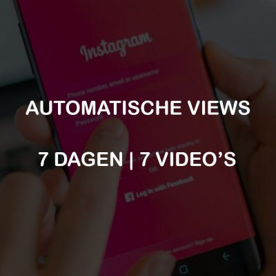 AUTOMATISCHE VIEWS 7 DAGEN 7 VIDEOS