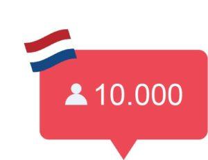 Echte Nederlandse volgers kopen