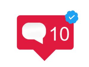 10 Instagram Reacties | Accounts met blauw vinkje