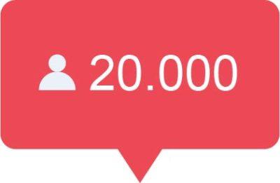 20.000 Instagram volgers kopen
