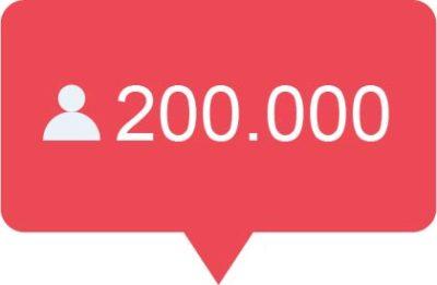 200.000 Instagram volgers kopen