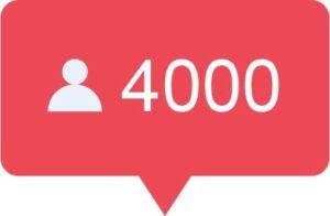 4000 Instagram volgers kopen