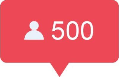 500 instagram volgers kopen