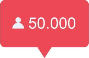 50.000 Instagram volgers kopen
