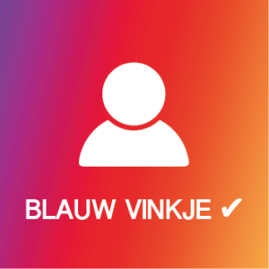 Instagram Blauwe vinkje volgers Kopen