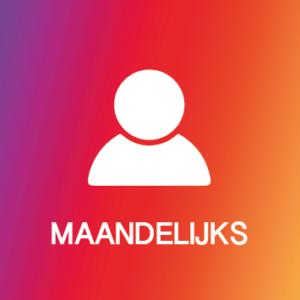Instagram Maandelijkse volgers Kopen